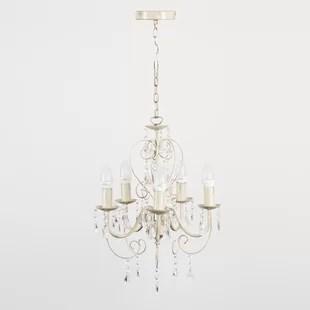 Lille 5 Light Crystal Chandelier