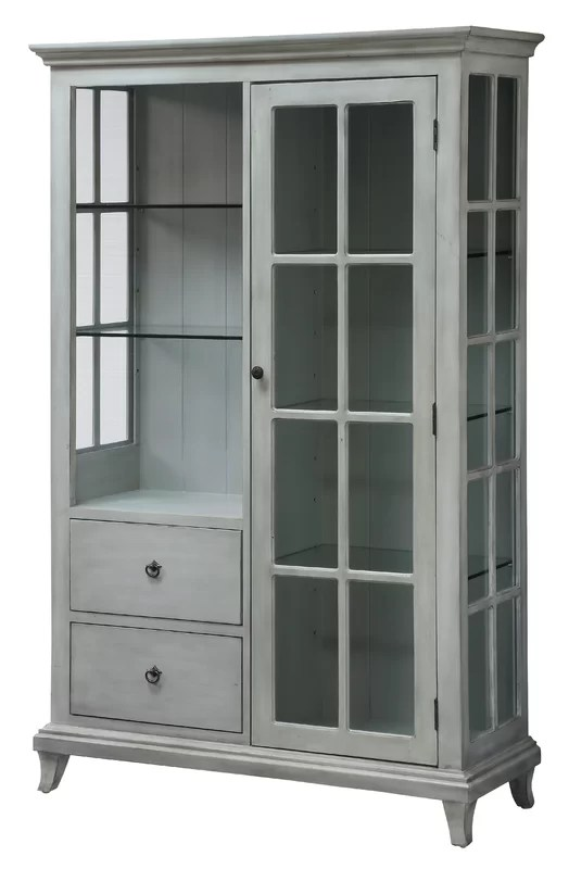 Cabinet With Glass Shelves Online Information