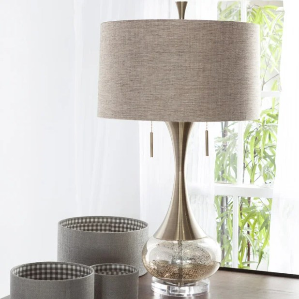 Pull Chain Table Lamps You Ll Love Wayfair - Bedside Table Lamps With Pull Chains Brokeasshome.com