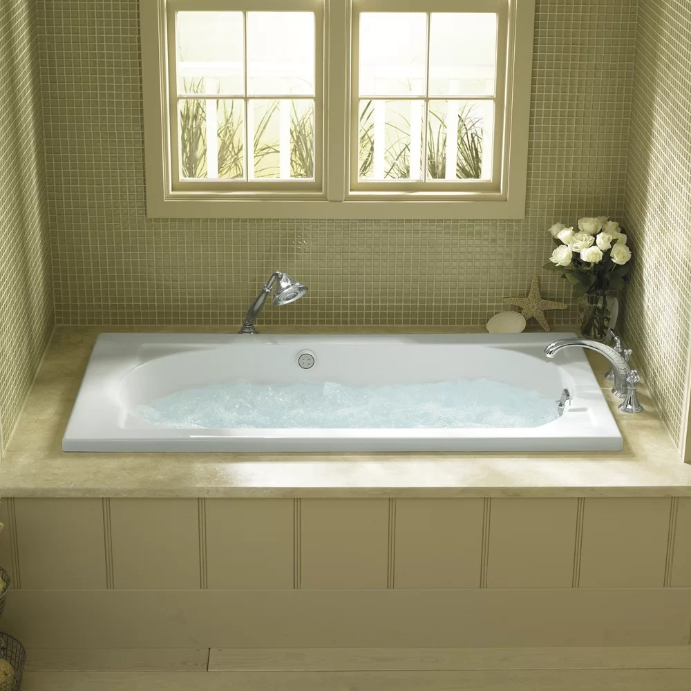 Kohler Devonshire Alcove 60 X 32 Soaking Bathtub