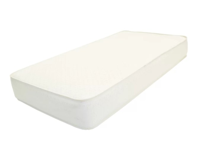 2 In 1 Memory Soy Foam Core Crib Mattress Extra Firm With Jacquard Cover
