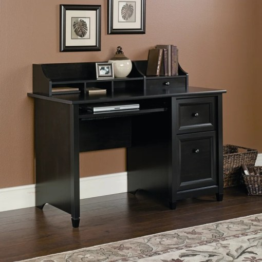 Three Posts Lamantia Computer Desk with Hutch   Reviews   Wayfair Lamantia Computer Desk with Hutch