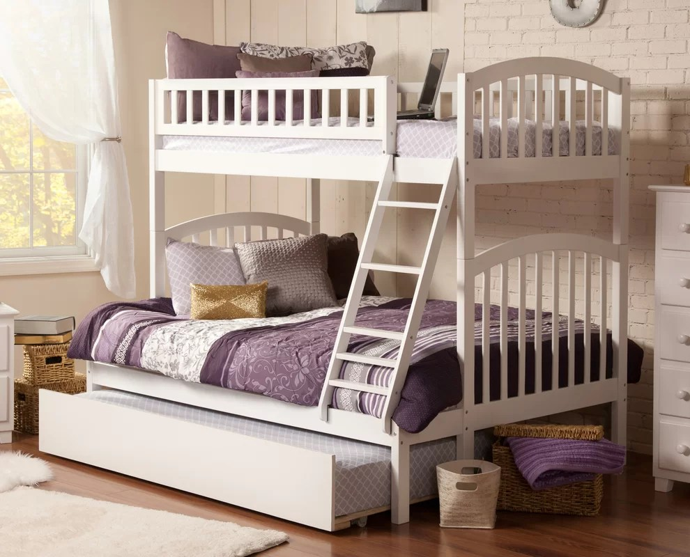 Viv + Rae Jackie Twin Over Full Bunk Bed & Reviews