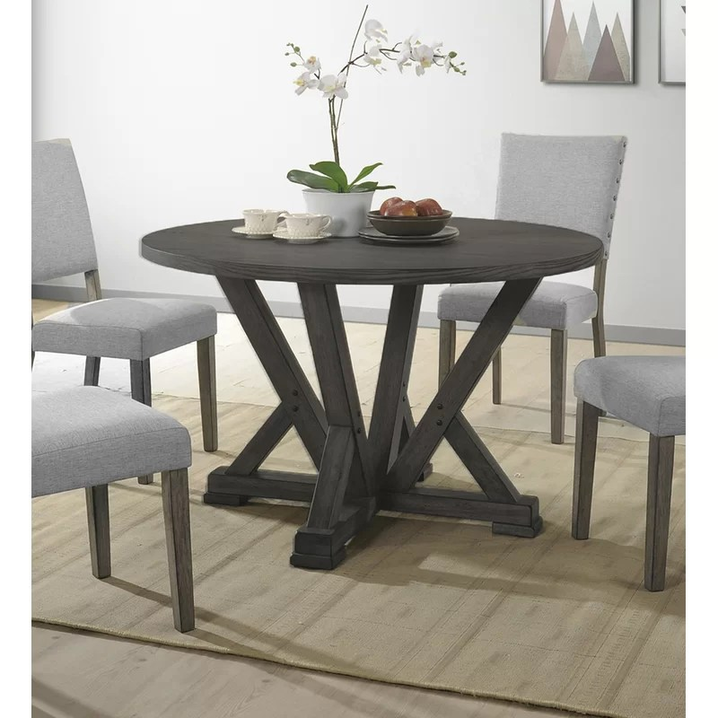 gracie oaks batey solid wood dining table reviews wayfair on solid wood dining table id=90222