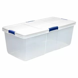 Simple 100 Gallon Clear Storage Bins - isla-100-quart-plastic-storage-tote-set-of-4  Trends_855720.jpg
