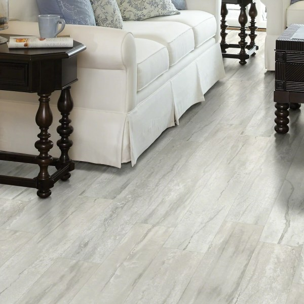 Vinyl Plank Flooring You ll Love   Wayfair Stately Charm 6  x 48  x 6 5mm Vinyl Plank in Palatial  By Shaw Floors