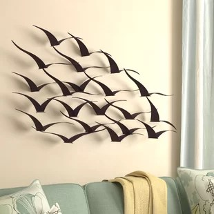 Wall D    cor You ll Love   Wayfair Birds Wall D    cor