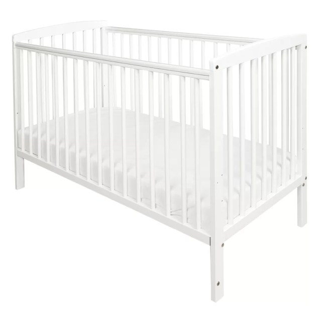 Sydney Cot With Mattress