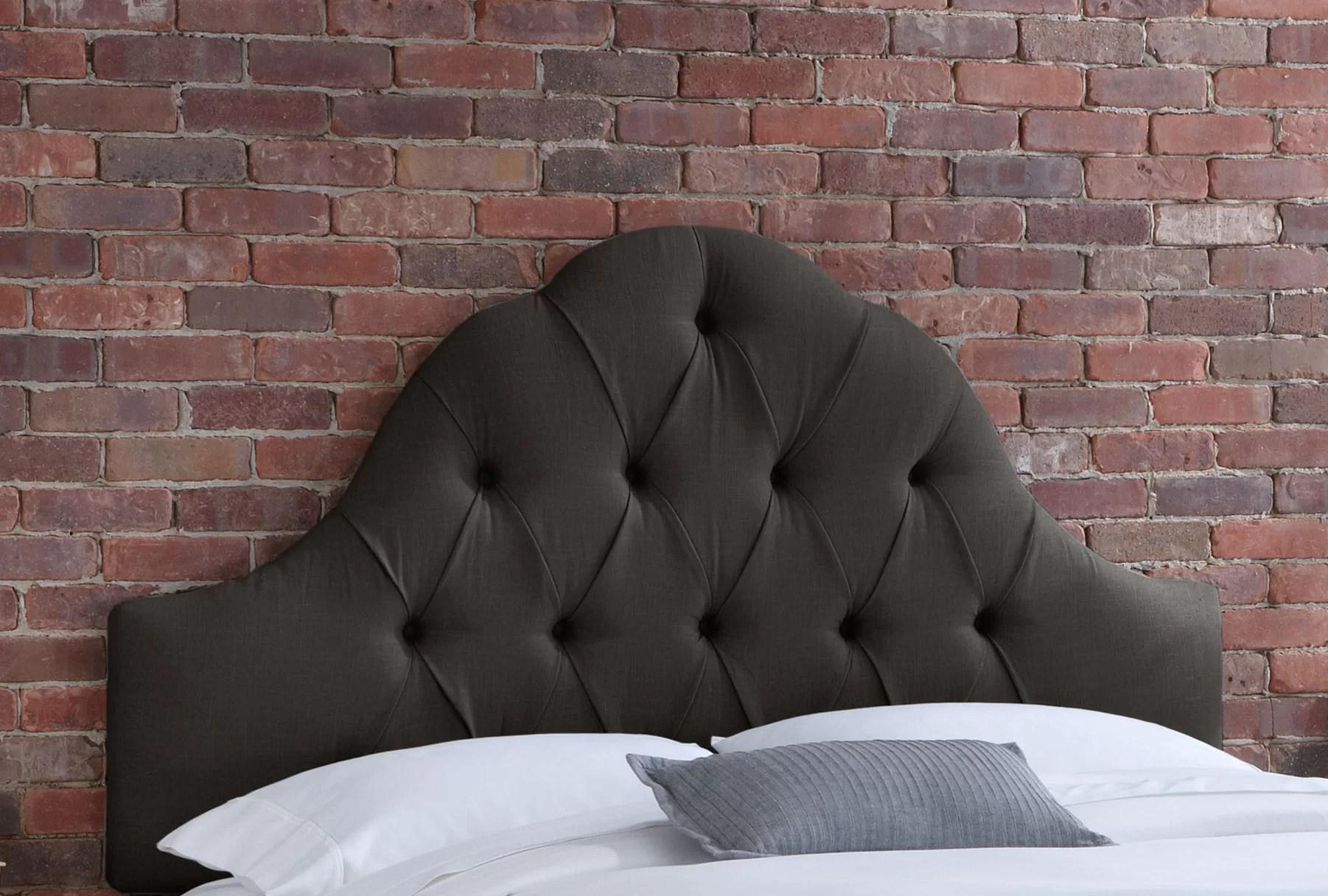 Skyline Furniture Tufted Upholstered Panel Headboard