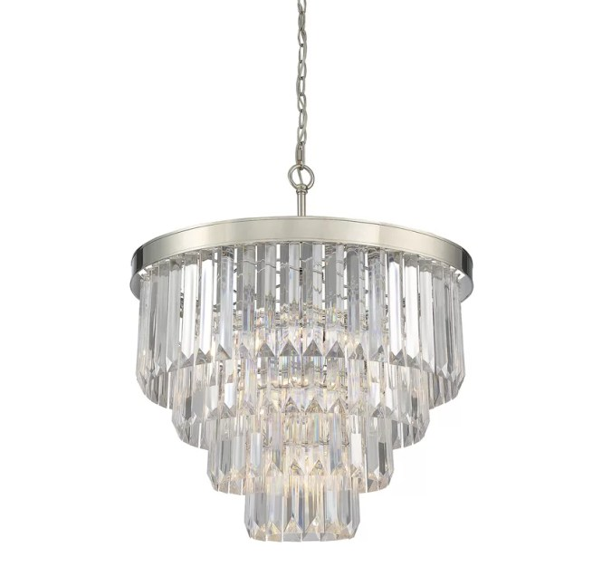Dyanna 6 Light Crystal Chandelier