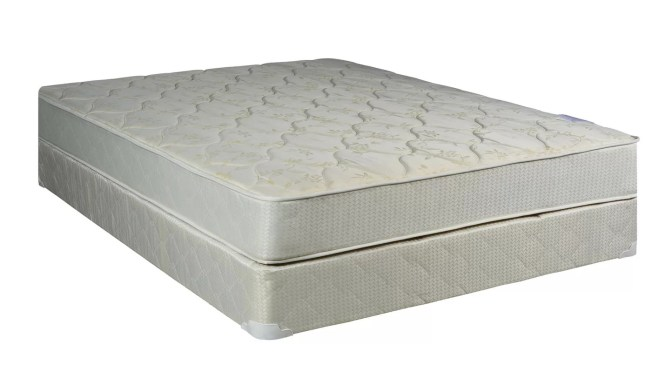 8 Firm Innerspring Mattress With Box Spring