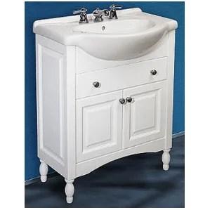 narrow depth bathroom vanity | wayfair