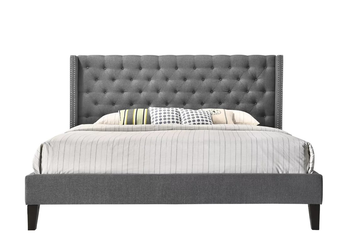 Darby Home Co Kathrine Upholstered Platform Bed & Reviews