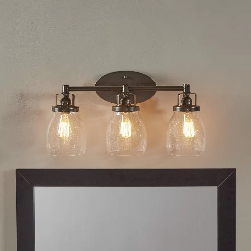 Trent Austin Design Panorama Point Heirloom Bronze 3-Light ... on Wayfair Bathroom Sconces id=30093