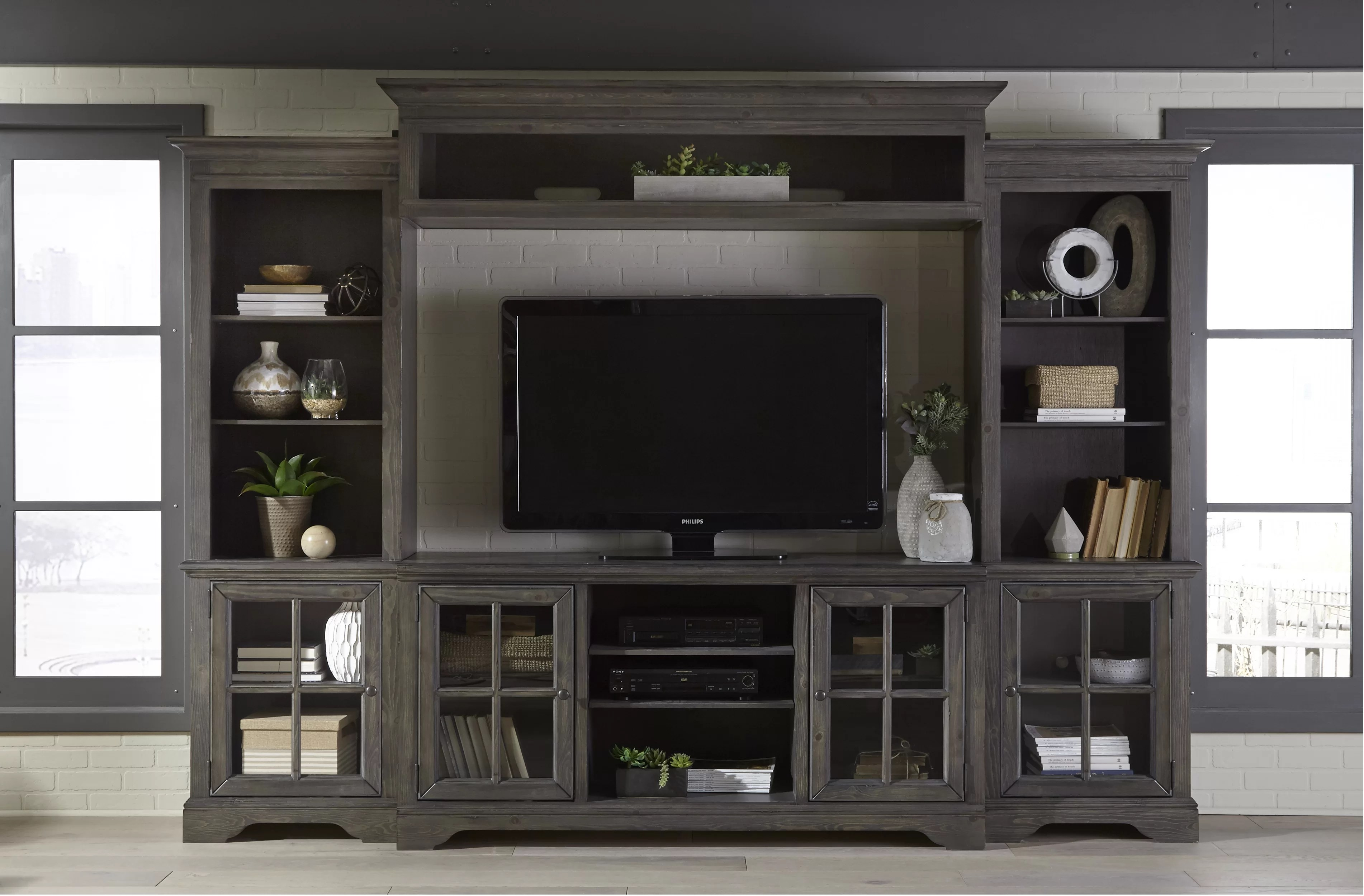 zurich entertainment center for tvs up to 65