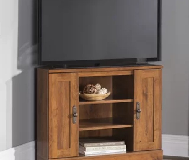 Englewood Corner Tv Stand For Tvs Up To