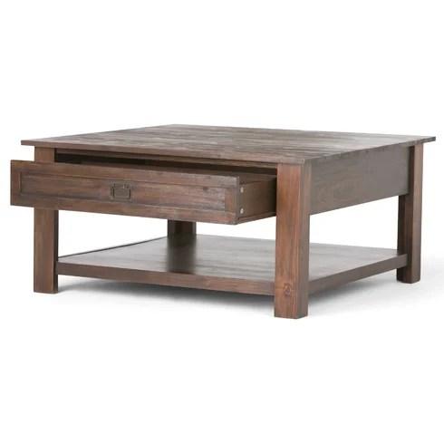 Simpli Home Monroe Coffee Table Amp Reviews Wayfair