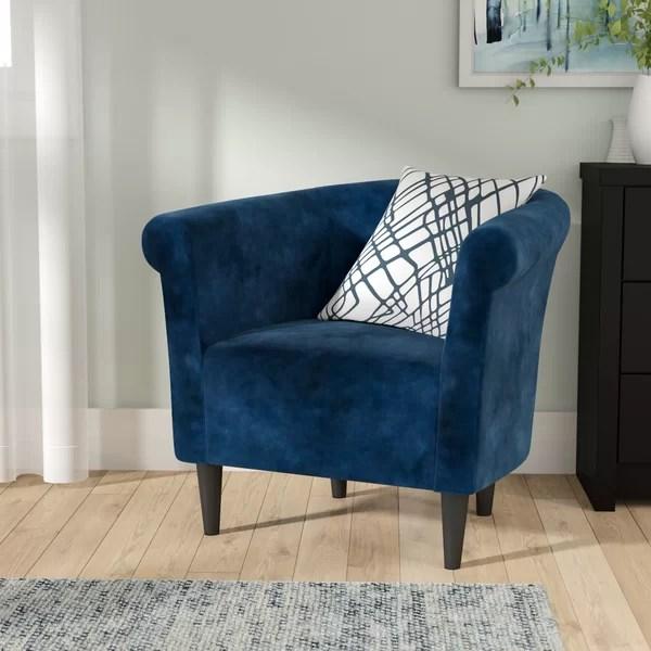 Zipcode Design Liam Barrel Chair Amp Reviews Wayfair