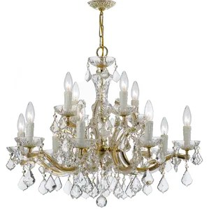 Maura 12 Light Crystal Chandelier