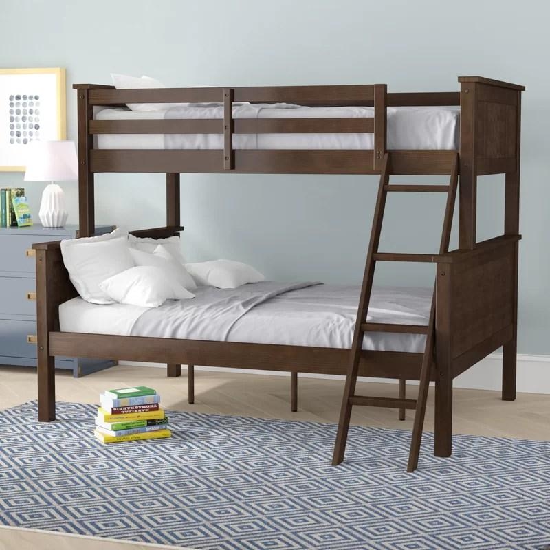Twin Over Full Bunk Bed Convertible Novocom Top