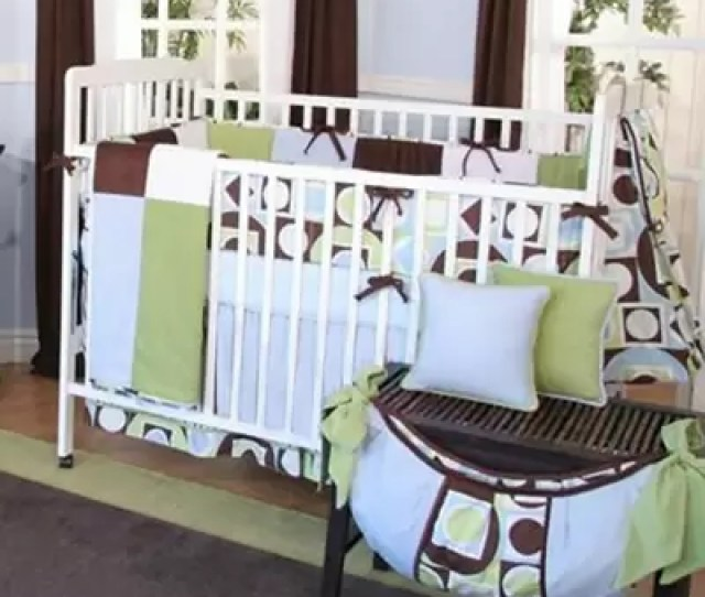 Modern Baby  Piece Crib Bedding Set