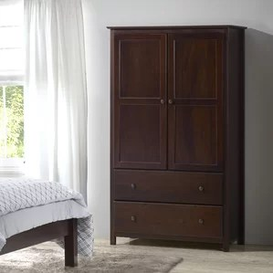 armoires & wardrobes you'll love | wayfair