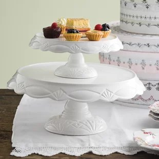 Large Wedding Cake Stand   Wayfair Le Gateau Pedestal Cake Stand