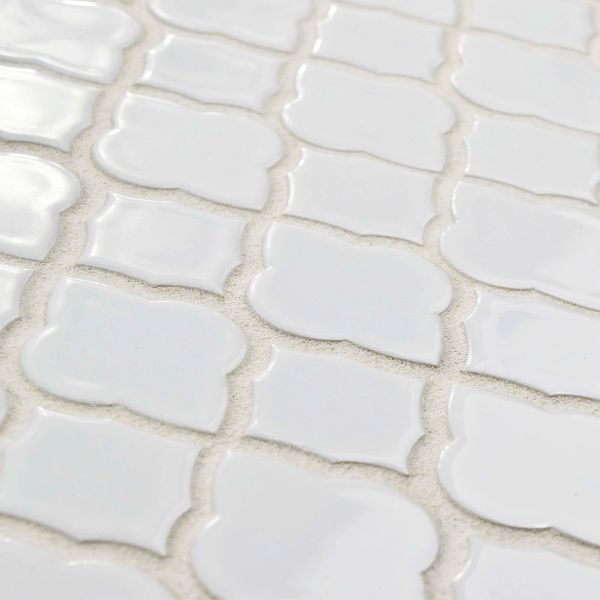 Elitetile Goulette 10 5 X 10 5 Ceramic Mosaic Floor And