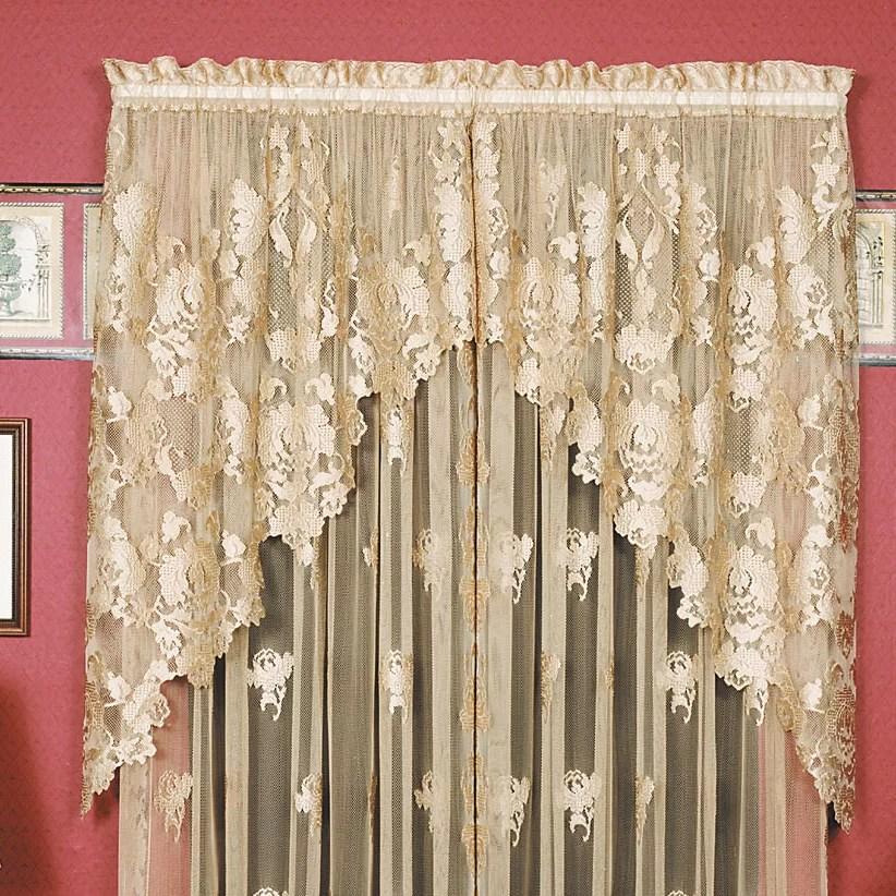Heritage Lace Windsor 36 Swag Curtain Valance Amp Reviews Wayfair