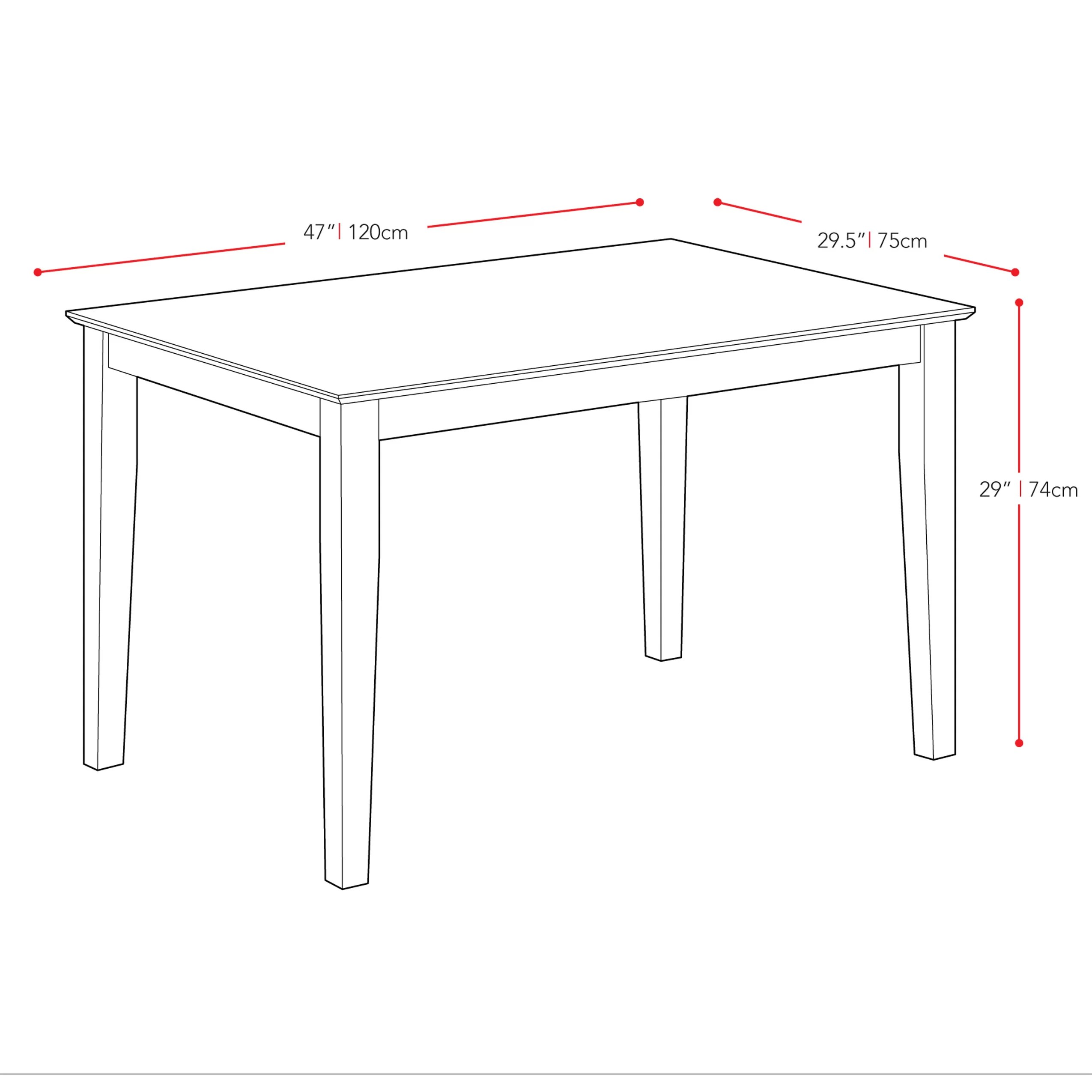 Corliving Hilary Dining Table