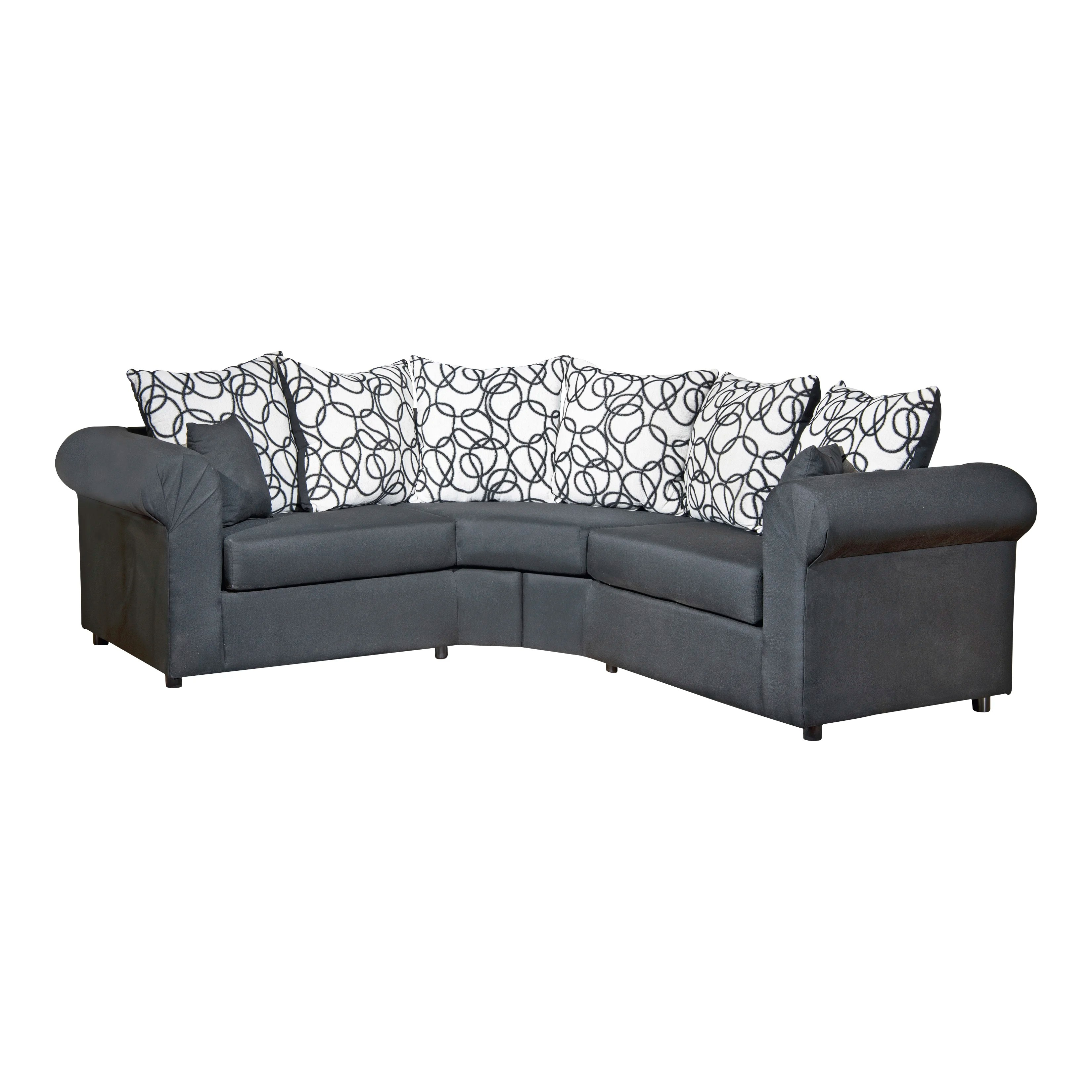 Curved Sectional Sofas You Ll Love Wayfair