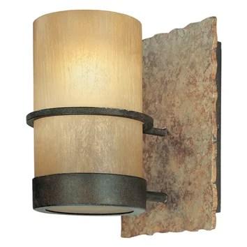 Troy Lighting Bamboo 1 Light Bath Wall Sconce & Reviews ... on Wayfair Bathroom Sconces id=97619