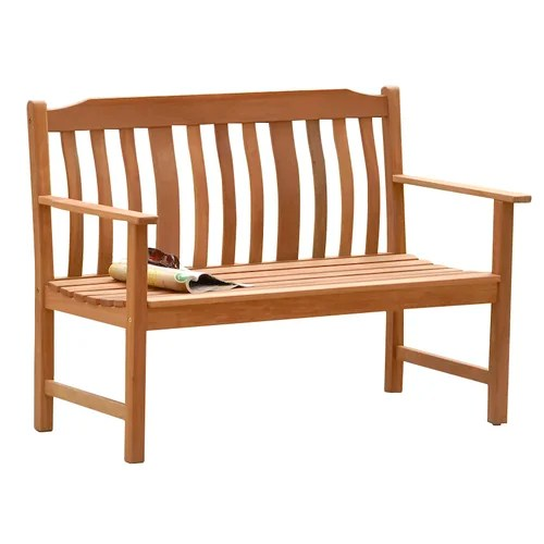 SunTime Outdoor Living Highland Nyatta Wood Garden Bench ... on Suntime Outdoor Living  id=74968