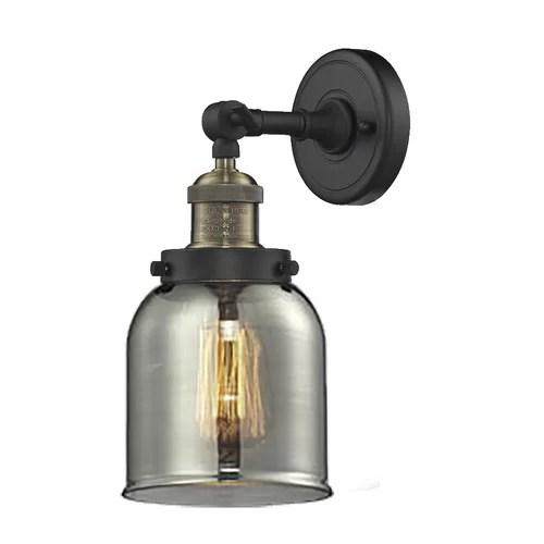 Innovations Lighting 1 Light Glass Bell Wall Sconce ... on Wayfair Bathroom Sconces id=76166