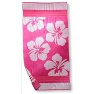Hawaiian Flower Beach Towel