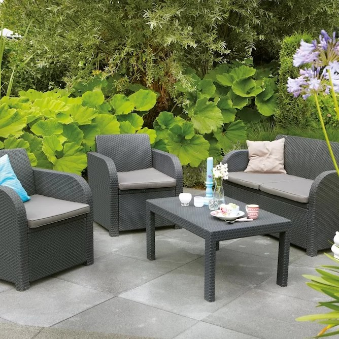 SunTime Outdoor Living Oklahoma 4 Piece Lounge Seating ... on Suntime Outdoor Living  id=83569