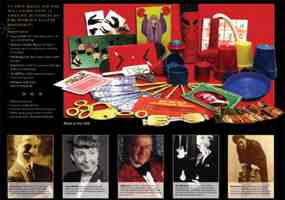 Classic Mysteries of the Master Magicians Magic Kit