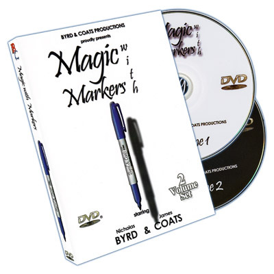 Magic with Markers by Coats & Byrd