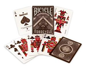 Bicycle Robocycle Deck- Blue