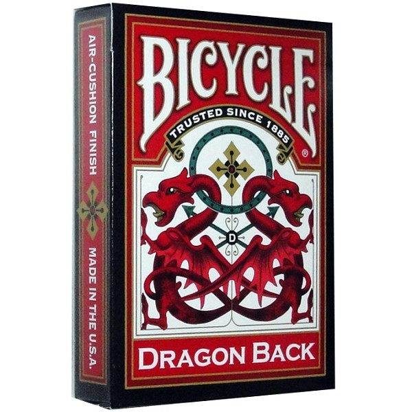 Bicycle Red Dragon Back Deck
