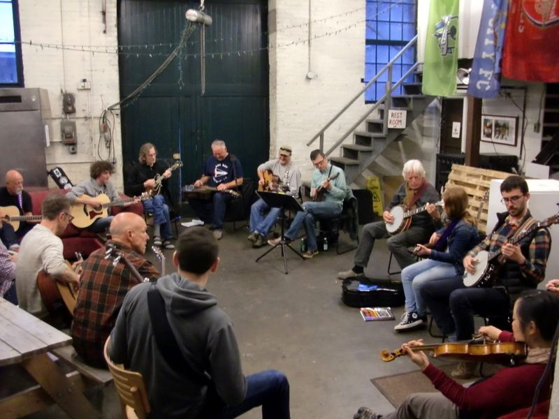 southside-bluegrass-jam-night-machine-house-brewery-seattle-beer