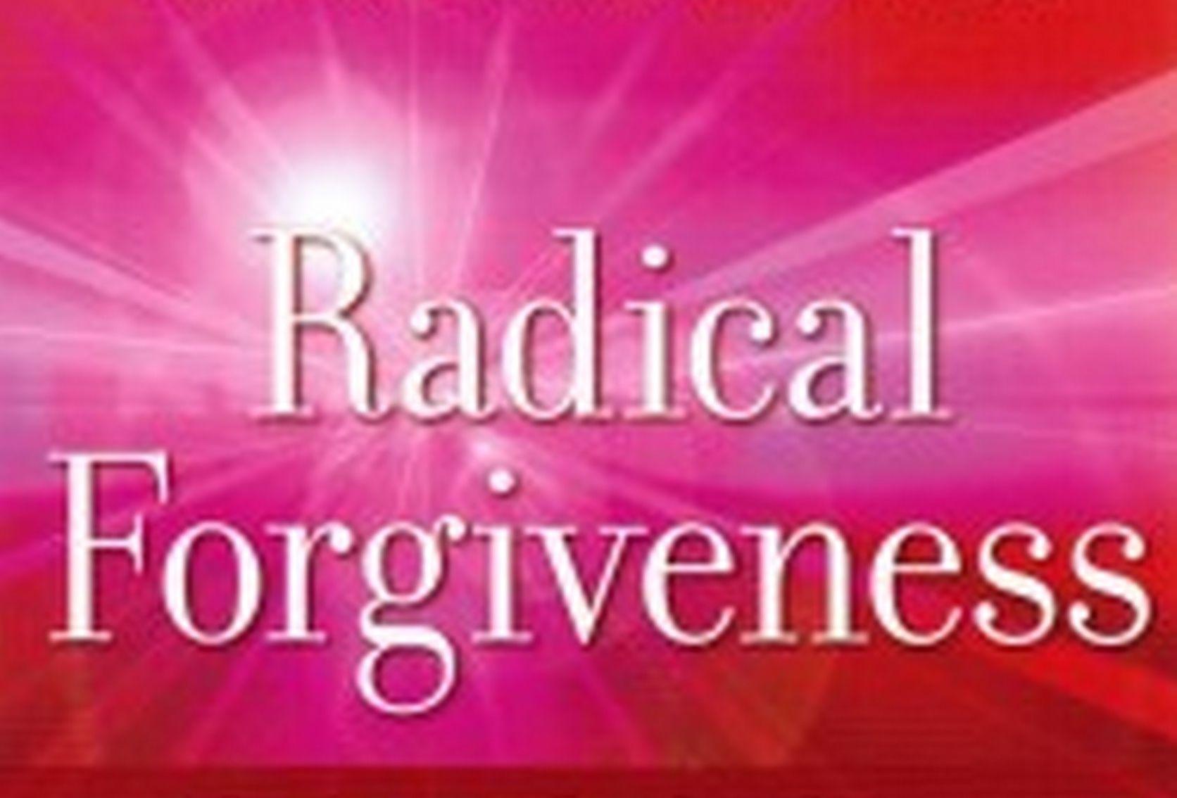 Radical Forgiveness Theme Evening The Rf Worksheet