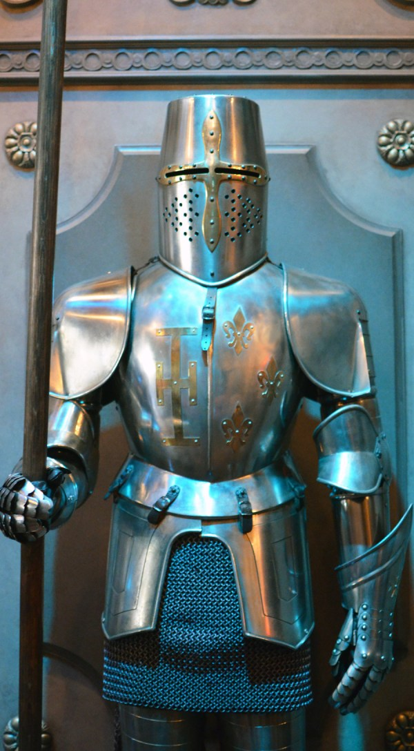 All in the Details: Suits of Armor at Be Our Guest ...