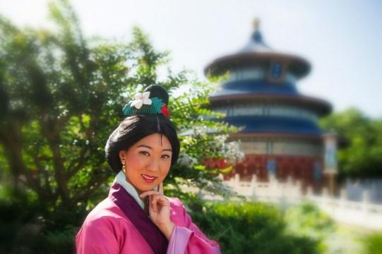 Mulan at China Pavilion Epcot