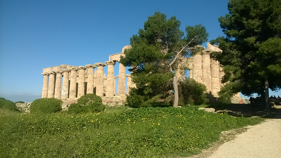 Temple Ruins at Segesta Port Adventure with Disney Cruise Lines