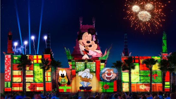 """All-New Holiday Nighttime Spectacular """"Jingle Bell, Jingle BAM!"""" Coming to Disney's Hollywood Studios at Walt Disney World Resort"""