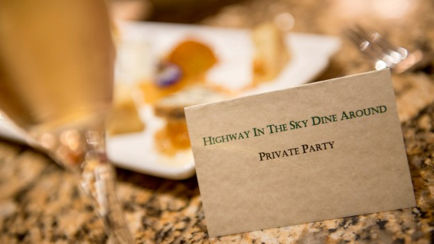New Highway in the Sky Dine-Around Launches Dec. 2 at Walt Disney World Resort