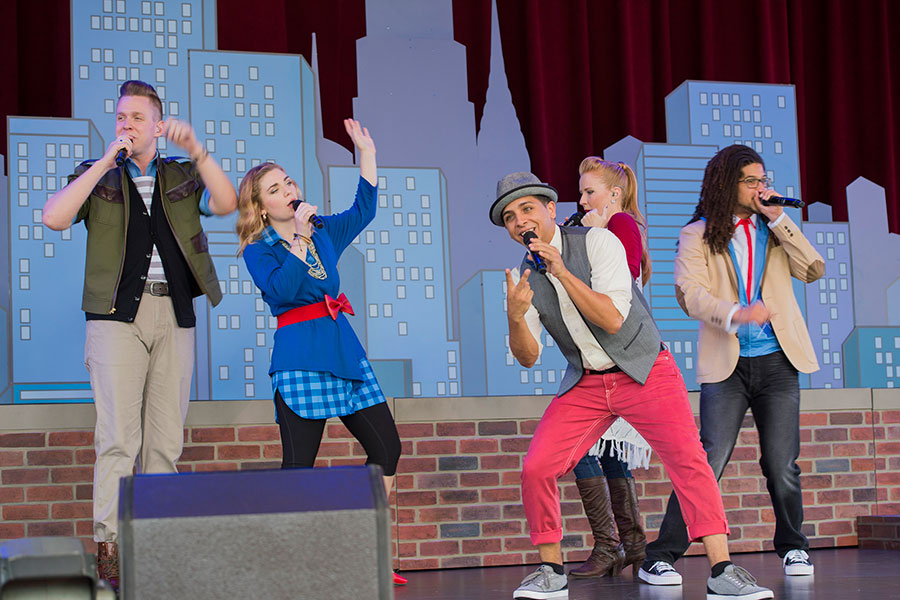 Disney on Broadway Stars Take Center Stage at the New Epcot International Festival of the Arts