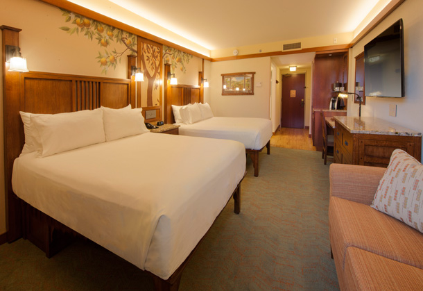 A Closer Look New Guest Rooms At Disney S Grand Californian Hotel Spa