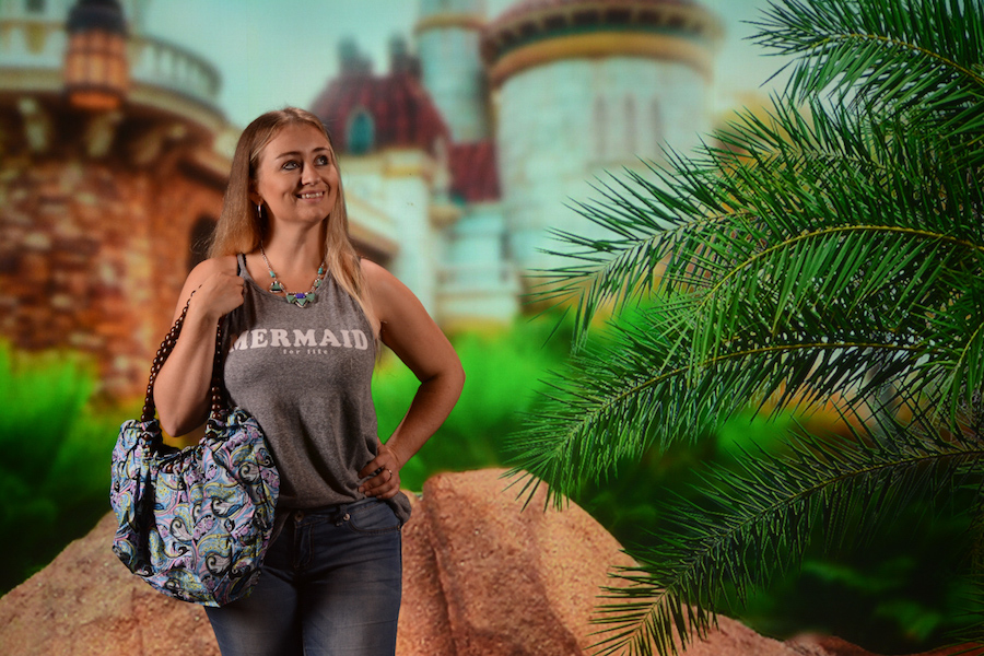 Show off your Tren-D style at the Disney PhotoPass Studio at Disney Springs